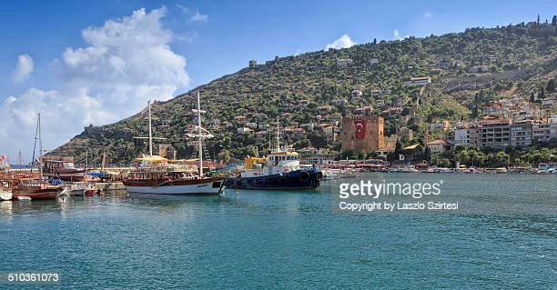 The harbor of Alanya