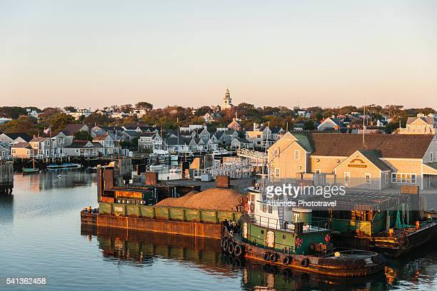 the harbor - nantucket stock pictures, royalty-free photos & images