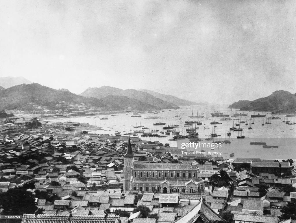 Nagasaki Harbour : News Photo