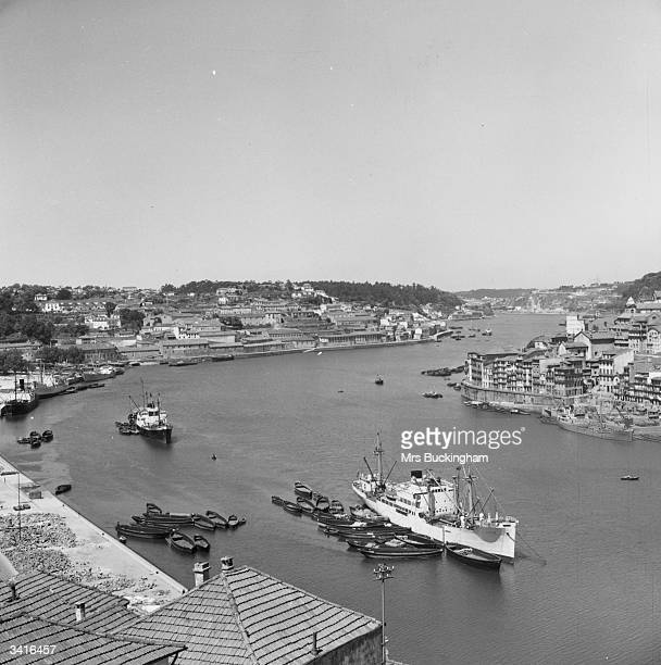 The harbour at Oporto
