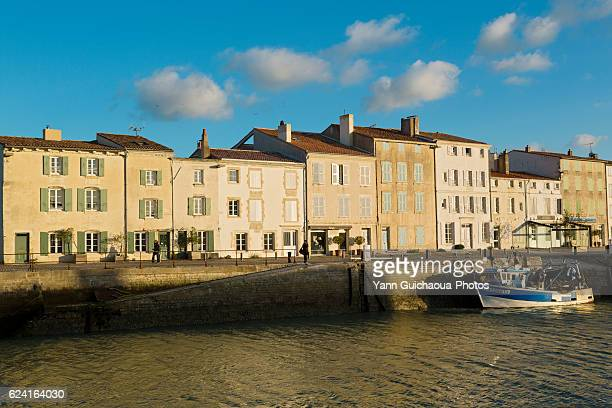 The Harbour At Saint Martin de Re,Ile de Re, Poitou Charente, Charente Maritime, France