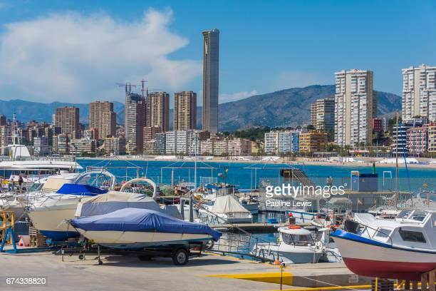 The Harbour, Benidorm, Spain.