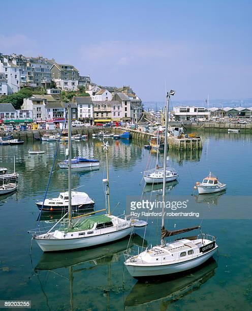 The harbour, Brixham, Devon, England, United Kingdom, Europe