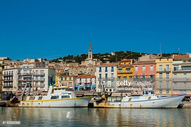 The harbour, Sete, Herault, France