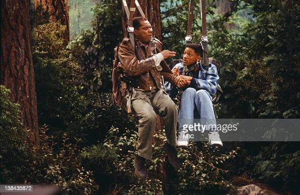 AIR THE 'The Harder They Fall' Episode 21 Pictured John Witherspoon as Augustus Adams Will Smith as William 'Will' Smith