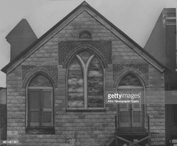 The Harlem Square Baptist Church, New York, New York, December 14, 1946.