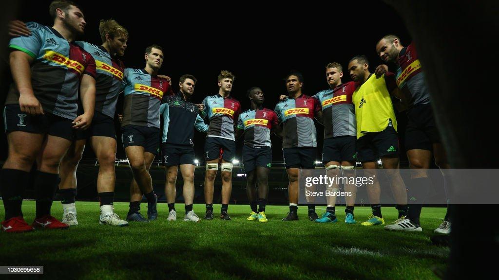Harlequins v Bristol United: Premiership Rugby Shield : News Photo