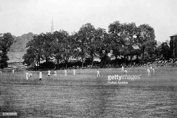The Harrow sixth form cricket ground 1877