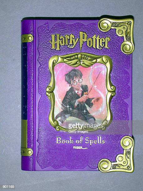 The Harry Potter Book of Spells a personalized electronic encyclopedia on Harry Potter and the Sorcerer's Stone is on display in an undated photo The...