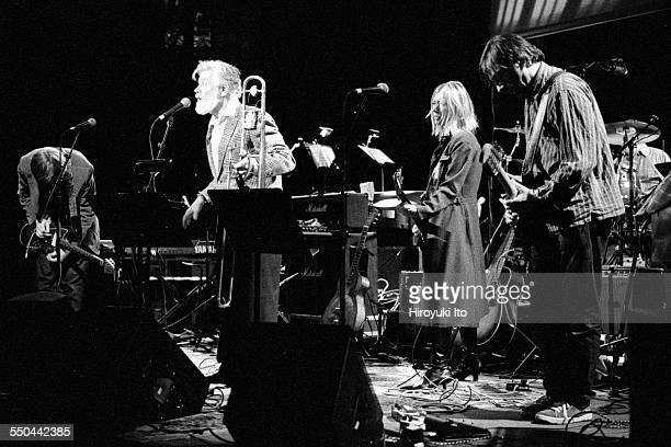 The Harry Smith Project produced by Hal Willner at St Ann's Church in Brooklyn on November 11 1999This imageSonic Youth performing with Roswell Rudd...
