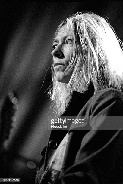 The Harry Smith Project produced by Hal Willner at St Ann's Church in Brooklyn on November 11 1999This imageKim Gordon of Sonic Youth