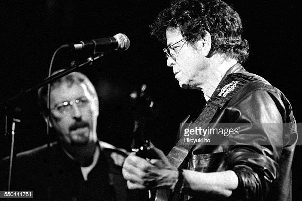 The Harry Smith Project produced by Hal Willner at St Ann's Church in Brooklyn on November 11 1999This imageLou Reed