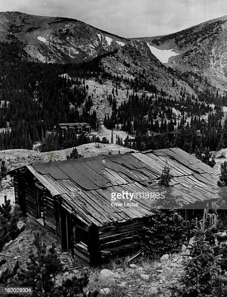The harsh winds of winter tear at the old house. Hail slems against the metal roof. This ghost town building was once a home. A family grew here....