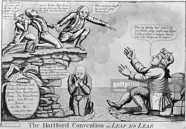 The Hartford Convention Political Cartoon by William Charles
