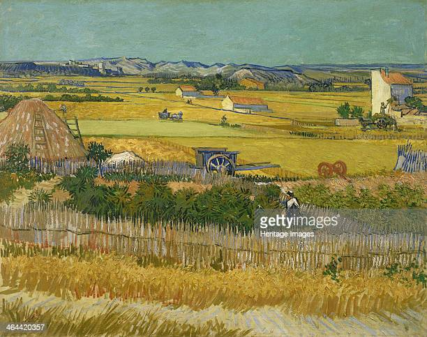 The harvest 1888 Found in the collection of the Van Gogh Museum Amsterdam