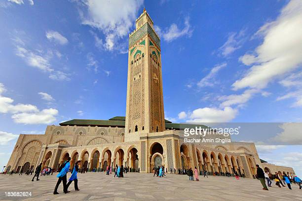 CONTENT] The Hassan II Mosque the largest mosque in Morocco and the third largest mosque in the world after the Masjid alHaram of Mecca and the...