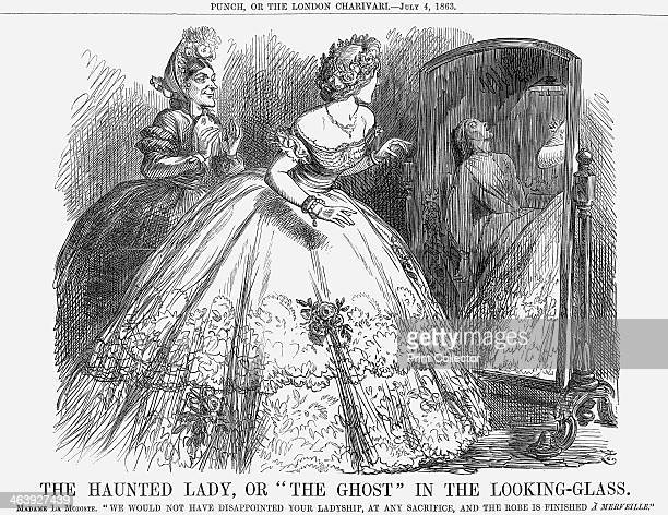 'The Haunted Lady Or The Ghost In the LookingGlass' 1863 Madame La Modiste says We Would Not Have Disappointed Your Ladyship At Any Sacrifice And The...