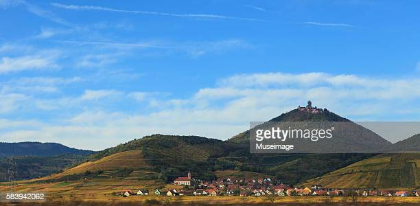 The Haut-Koenigsbourg castle / Le château du Haut-Koenigsbourg