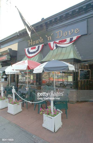 The Hawk 'n' Dove restaurant, which missing intern Chandra Levy reportedly frequented.