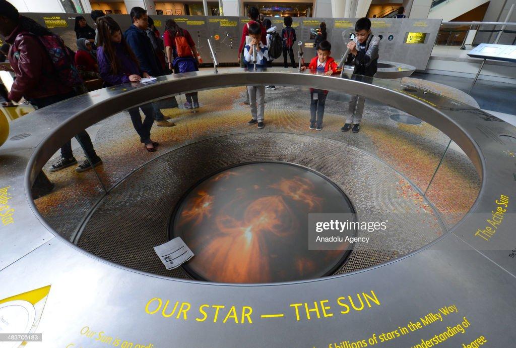 The Hayden Planetarium exhibition of Department of