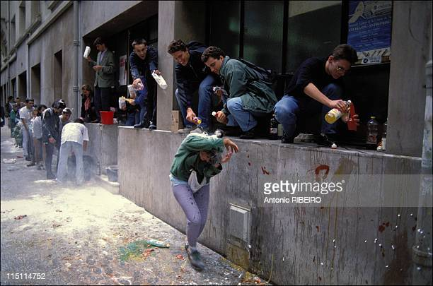 The Hazing In the Grandes Ecoles In France In October 1991