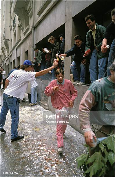 The Hazing In the 'Grandes Ecoles' In France In October 1991
