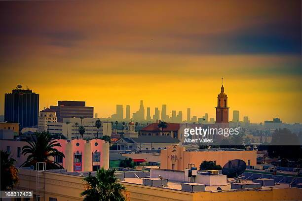 The hazy colors of LA!