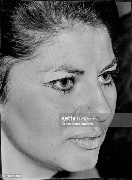 The hazy green eyes of Princess Soraya told a story of contrast last night.It was Sydney Society's first look at the former wife to the Shah of...