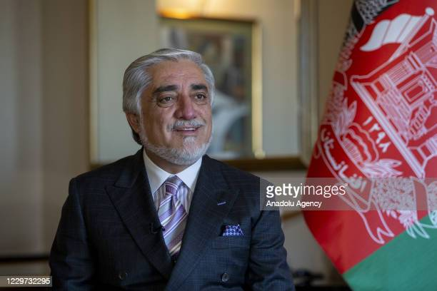 The head of Afghanistans High Council National Reconciliation speaks on the killing of at least 39 Afghan civilians by Australian forces during an...