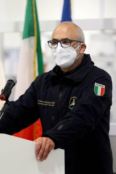 ITA: Italian Vaccination Commissary General Figliuolo Visits Bari