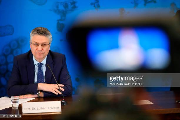 The head of Germany's federal government agency and research institute responsible for disease control and prevention Robert Koch Institute Lothar...