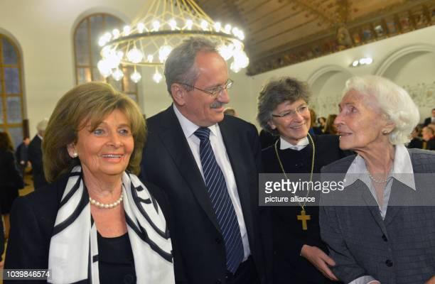 The head of the 'Israelitische Kultusgemeinde Muenchen Charlotte Knobloch Munich's mayor Christian Ude regional bishop of the protestant church...