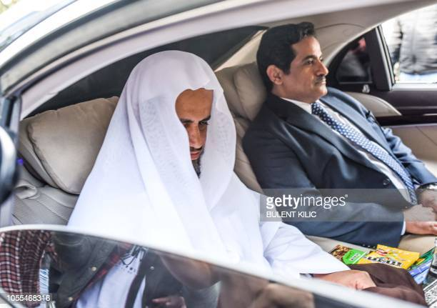 The head of the Saudi investigation into the murder of journalist Jamal Khashoggi Attorney General Sheikh Saud alMojeb leaves the SaudiArabian...