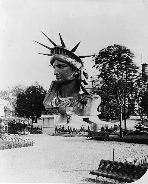 Statue Of Liberty's Head Wall Art