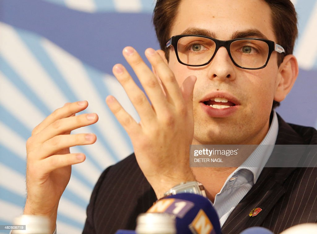 AUSTRIA-POLITICS-PARTY-YOUTH-RIGHT : News Photo