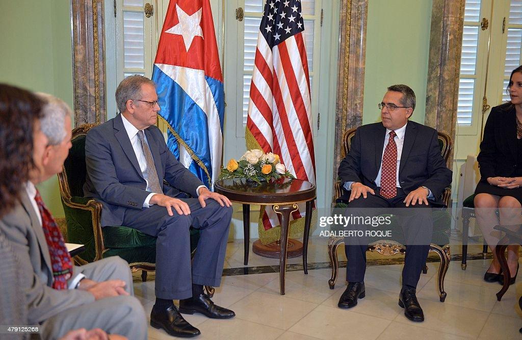 CUBA-US-DIPLOMACY : News Photo