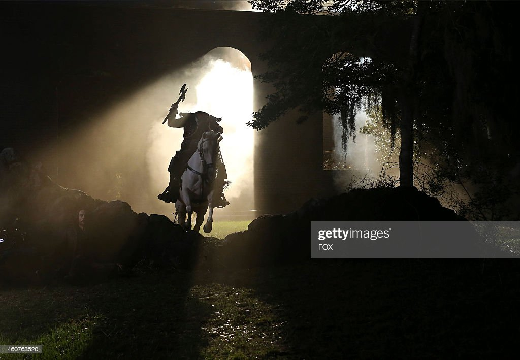 The Headless Horseman in the 'Magnum Opus' episode of SLEEPY HOLLOW airing Monday, Nov. 24, 2014 (9:00-10:00 PM ET/PT) on FOX.