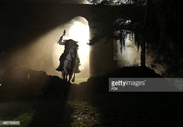 The Headless Horseman in the Magnum Opus episode of SLEEPY HOLLOW airing Monday Nov 24 2014 on FOX