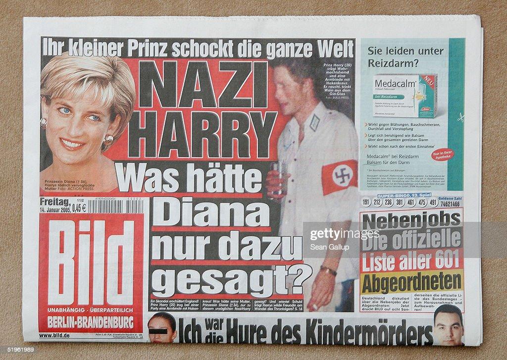 Prince Harry Makes Headline News Across The Globe : News Photo