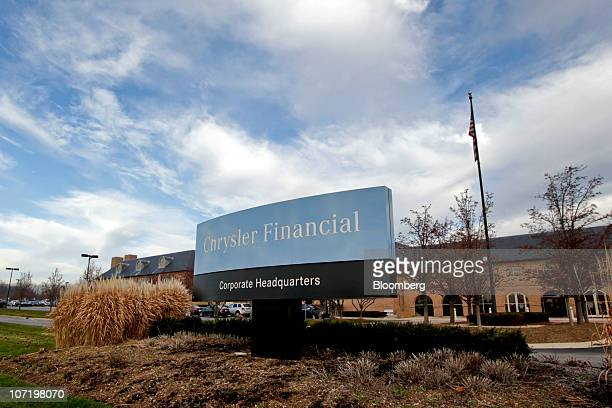 The headquarters building of Chrysler Financial stands in Farmington Hills Michigan US on Monday Nov 29 2010 Cerberus Capital Management LP is...