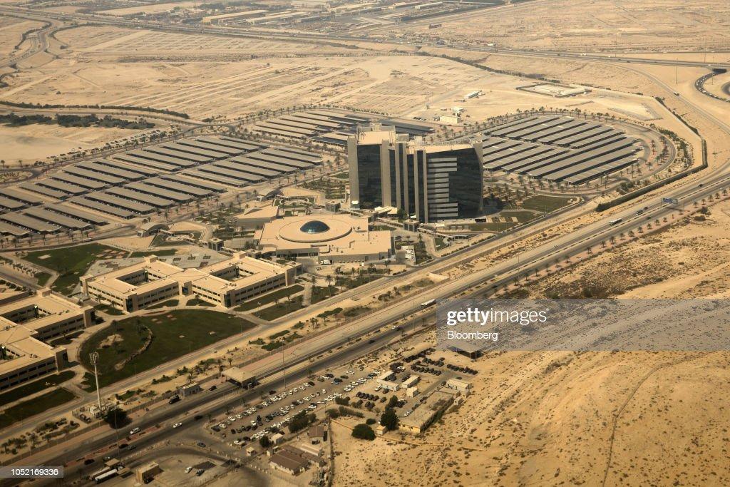The headquarters complex of the Saudi Aramco oil company