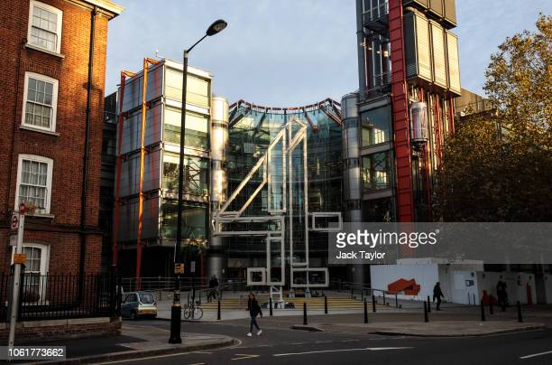 The headquarters for British television broadcaster Channel 4 stands on 124 Horseferry Road on October 31, 2018 in London, England. Channel 4, the...