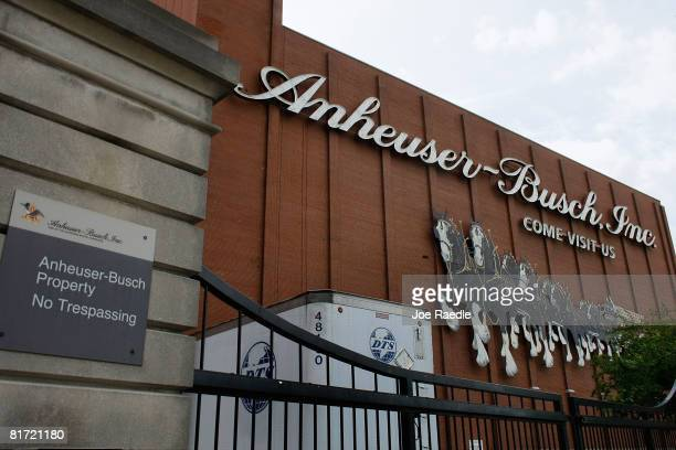 The headquarters of AnheuserBusch Inc is seen June 26 2008 in St Louis Missouri Reports indicate that the brewer of Budweiser beer was prepared to...