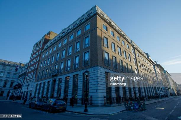 The headquarters of BP Plc stand in London, U.K., on Tuesday, Aug. 4, 2020. BP Plc cut its dividend for the first time in a decade, removing a...