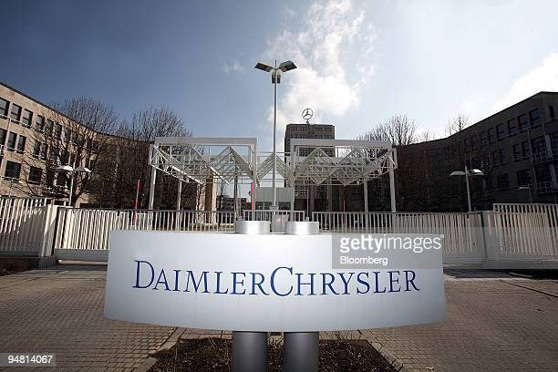 The headquarters of DaimlerChrysler are seen in Stuttgart Germany Saturday March 18 2006 BadenWuerttemberg home to companies including luxury...