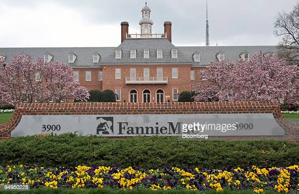 The headquarters of Fannie Mae stands in Washington DC US on Tuesday April 7 2009 Fannie Mae the largest US mortgagefinance company has been under...