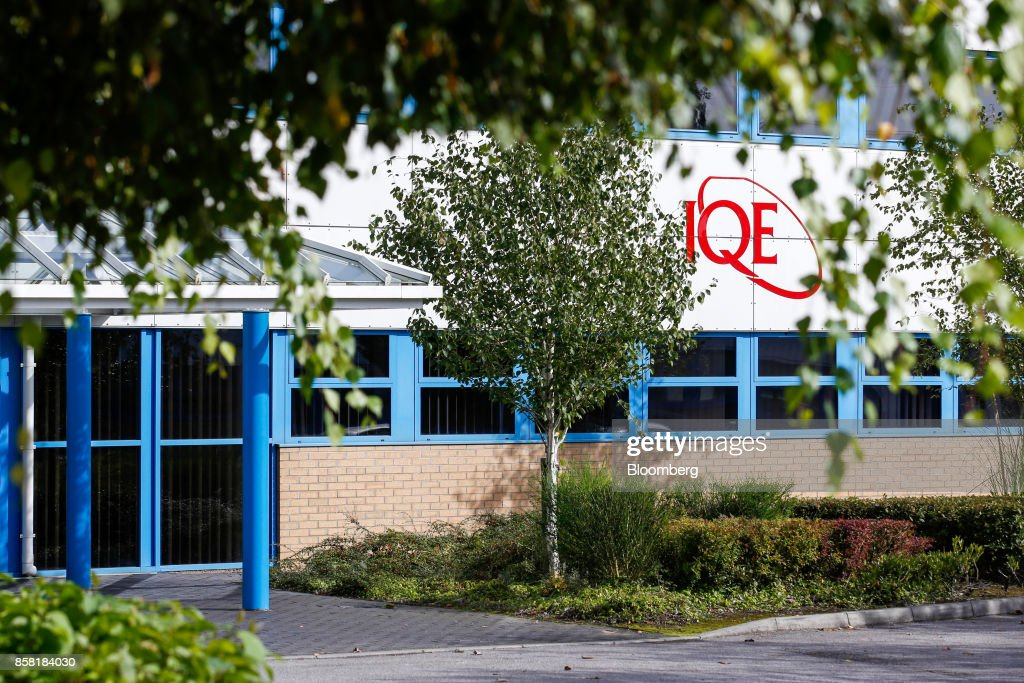 The headquarters of IQE Plc, a manufacturer of semiconductor wafer products, stands in Cardiff, U.K., on Thursday, Sept. 28, 2017. IQE makes wafers that are needed for Vertical Cavity Surface Emitting Lasers (VCSELs), used for 3D sensors and widely thought to be included inthe new iPhone. Photographer: Luke MacGregor/Bloomberg via Getty Images