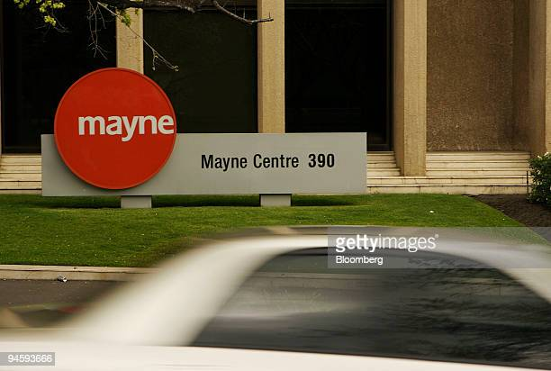 The headquarters of Mayne Pharma Ltd is pictured in Melbourne Australia on Sunday Sept 10 2006 Hospira Inc the hospital supply company spun off from...