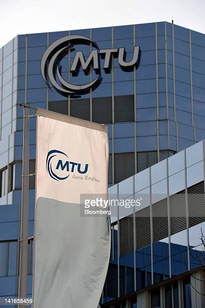 The headquarters of MTU Aero Engines Holding AG are seen in Munich Germany on Wednesday March 21 2012 MTU Aero Engines Holding AG a German...