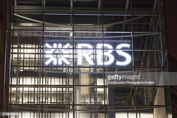 The headquarters of RBS in the city of London UK